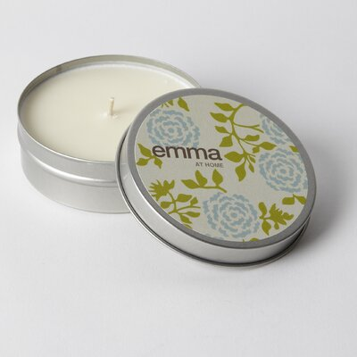 emma at home by Emma Gardner Bergamot Wallflower Travel Jar Candle
