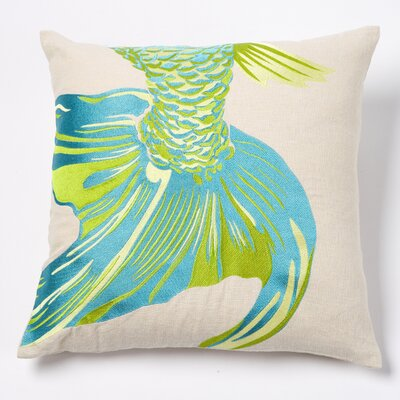 emma at home by Emma Gardner Acid Fishtail Pillow