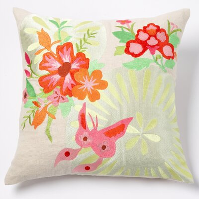 emma at home by Emma Gardner Joy Linen Pillow