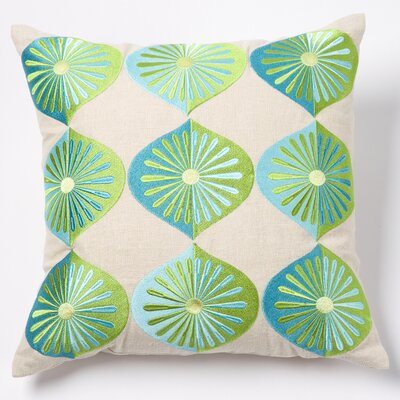 emma at home by Emma Gardner Many Fans Linen Pillow