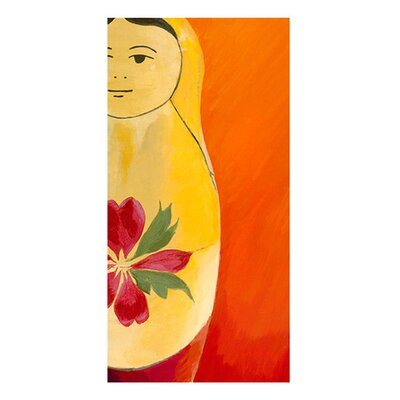 <strong>emma at home by Emma Gardner</strong> Matryoshka Half face Giclee Print Art