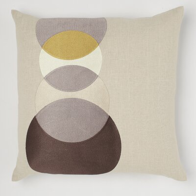 emma at home by Emma Gardner Four Eyes Linen Pillow