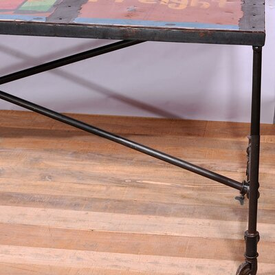 CG Sparks Freight Truck Dining Table