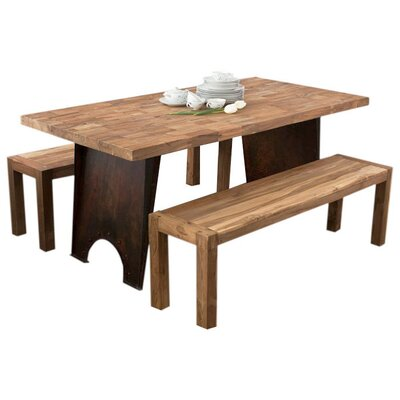 Wildon Home ® Reclaimed 3 Piece Dining Set