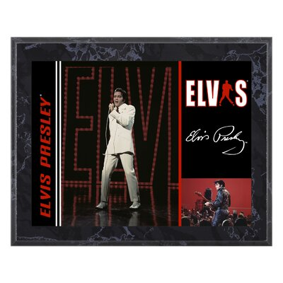 Mounted Memories Elvis Presley &quot;68 Special&quot; Plaque - 10.5&quot; X 13&quot;