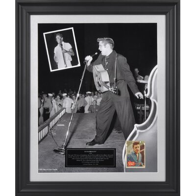 "Mounted Memories Elvis Presley ""1956"" Limited Edition Framed Presentation"