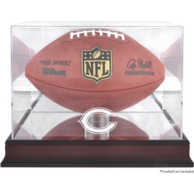 Mounted Memories NFL Football Logo Display Case