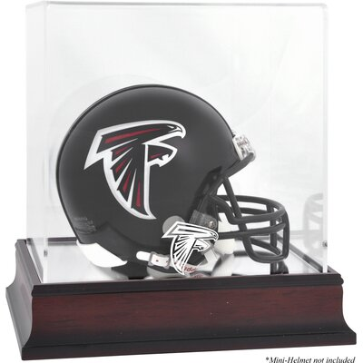 Mounted Memories NFL Logo Mini Helmet Display Case