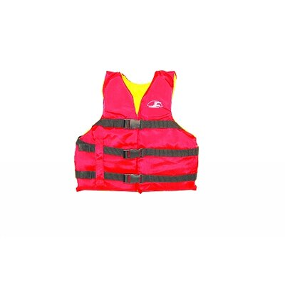 COD Paddlesports LLC Life Youth Vest in Red / Yellow