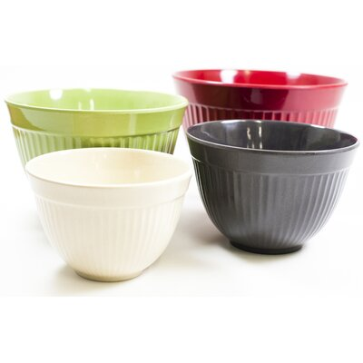 Natural Home Moboo 4 Piece Mixing Bowl Set