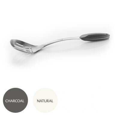 Moboo and Stainless Steel Slotted Spoon