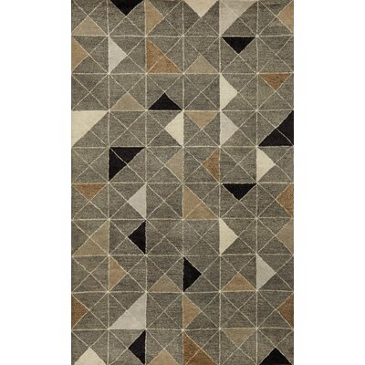 Liora Manne Fantasy Triangles Grey Rug