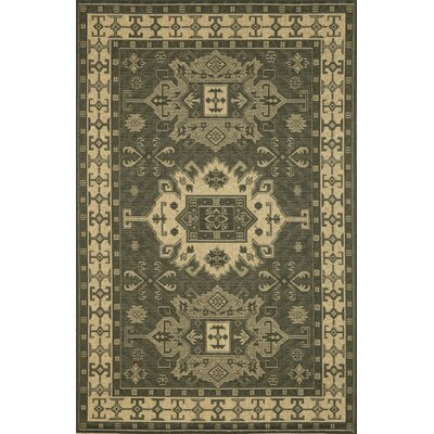 Monterey Charcoal Kilim Indoor/Outdoor Rug