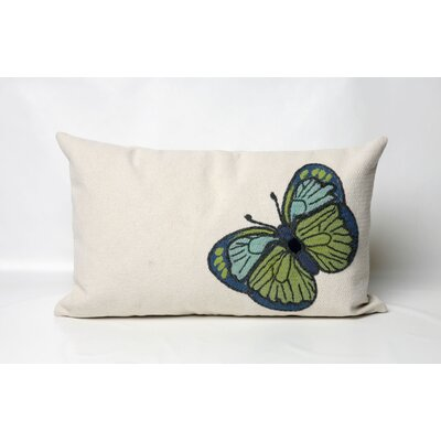 Liora Manne Butterfly Rectangle Indoor/Outdoor Pillow
