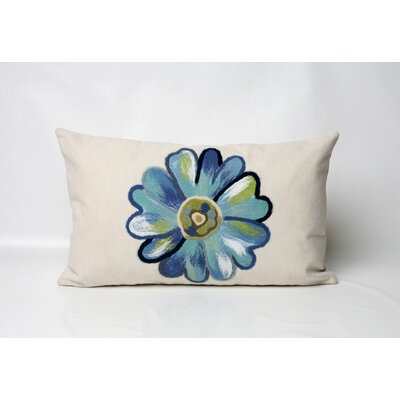 Liora Manne Daisy Rectangle Indoor/Outdoor Pillow