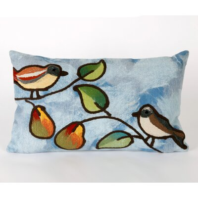 Liora Manne Song Birds Rectangle Indoor/Outdoor Pillow