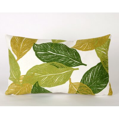 Liora Manne Mystic Leaf Rectangle Indoor/Outdoor Pillow