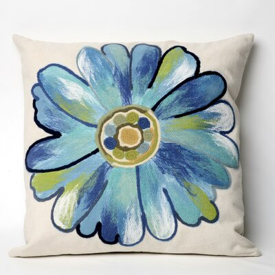 Liora Manne Daisy Square Indoor/Outdoor Pillow