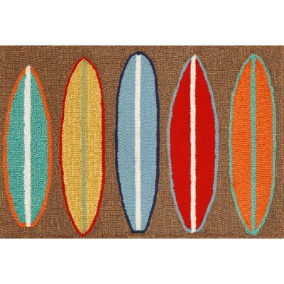 Liora Manne Frontporch Surfboards Rug