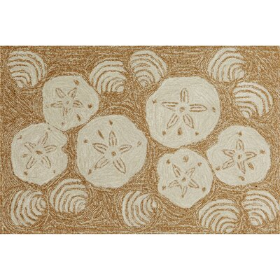 Liora Manne Frontporch Natural Shell Toss Rug