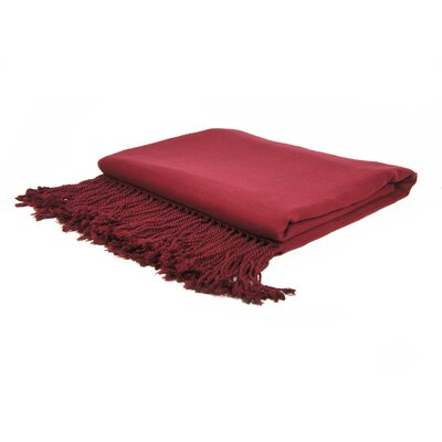 Cashmere Republic Cashmere and Bamboo Woven Throw