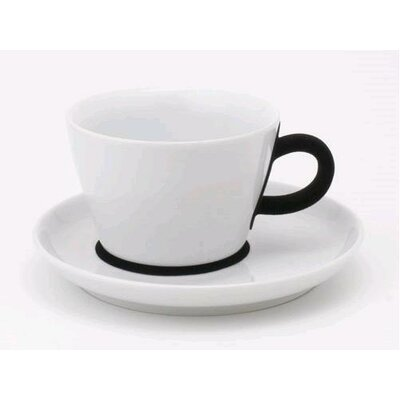 KAHLA Five Senses Touch! 8.5 oz. Cappuccino Cup with Saucer