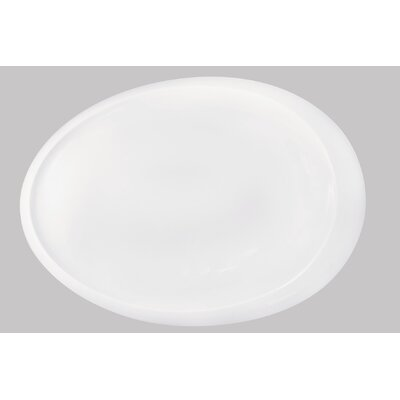 "KAHLA Tao 15.8"" Oval Platter in white"