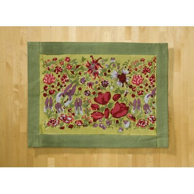 Jardine Red Green Placemat (Set of 6)