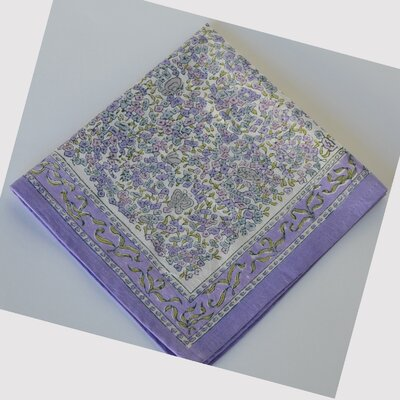 Couleur Nature Lavender Dining Linens Set