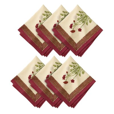 Poppies Napkin (Set of 6)