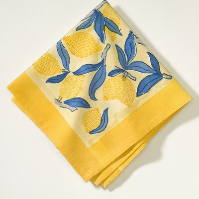 Couleur Nature Lemon Tree Dining Linens Set