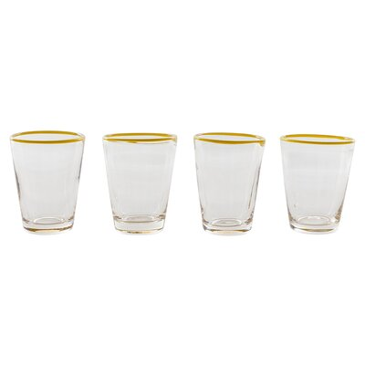 Couleur Nature Color Pop Juice Glass (Set of 4)