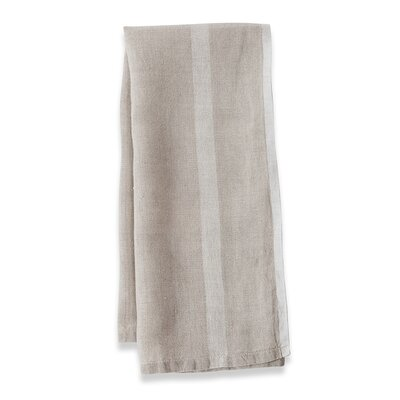 Couleur Nature Laundered Linen Stripe Tea Towel