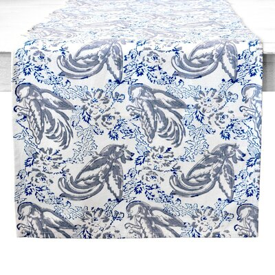Couleur Nature Batik Bird Table Runner