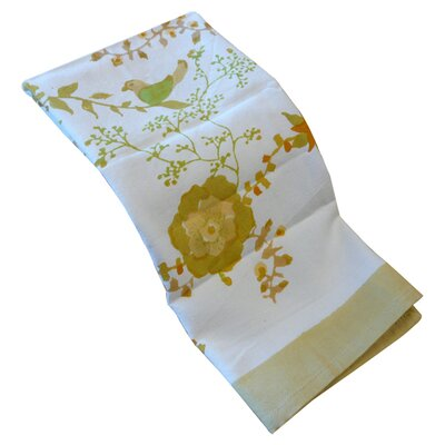 Couleur Nature Treetop Yellow Green Tea Towel (Set of 3)