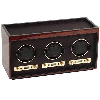 Wolf Designs Module 2.7 Triple Watch Winder