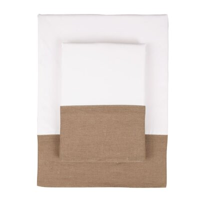 Nine Space Linen Border 300 Thread Count Bamboo Sheet Set