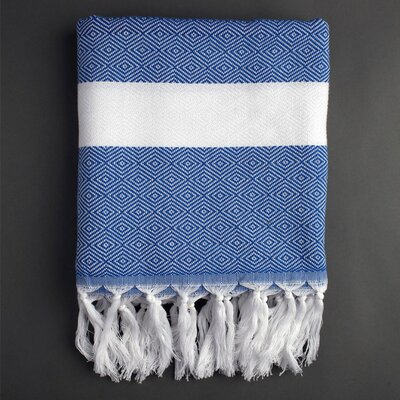 Nine Space Herringbone Fouta Bath Towel