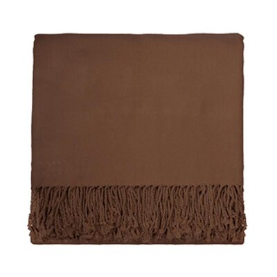 Nine Space Solid Bamboo Viscose Throw