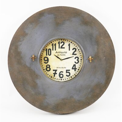 "Zentique Inc. Paris Oversized 23"" Wall Clock"