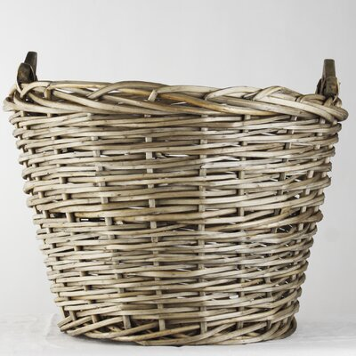 Zentique Inc. XL French Market Round Basket