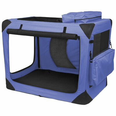 Pet Gear Home' n Go Generation II Deluxe Portable Soft Intermediate Pet Crate