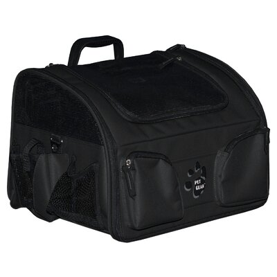 Bike Basket 3-in-1 Pet Carrier in Black