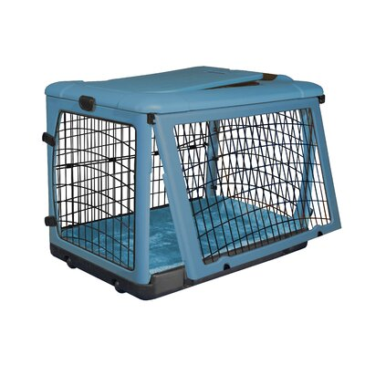 Pet Gear Deluxe Steel Dog Crate in Ocean Blue