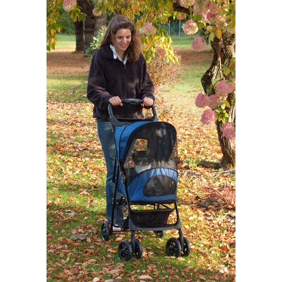 Pet Gear Happy Trails Pet Stroller in Cobalt Blue
