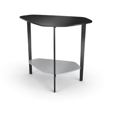 Spar Faceted End Table
