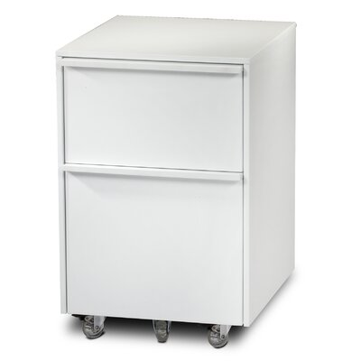 BDI Cascadia 2-Drawer Mobile  File