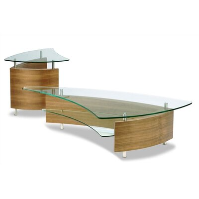 BDI Fin Coffee Table Set