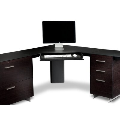 BDI Sequel Corner Desk Office L- Shaped Suite