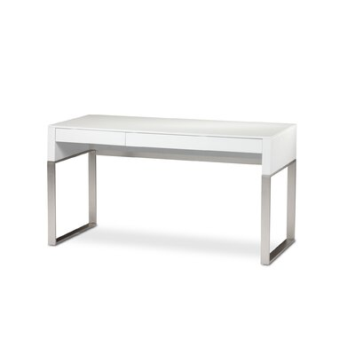 BDI USA Cascadia 2 Drawer Reversible Computer Desk